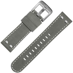 TW Steel Uhrenarmband Wildleder Grau Universell