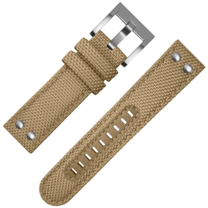 TW Steel Uhrenarmband Canvas Khaki 24mm