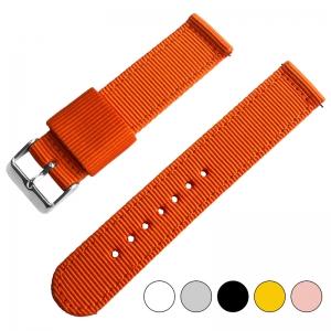 Orange Two Piece RAF NATO Nylon Uhrenarmband