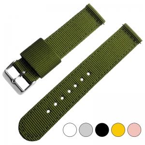 Armeegrünes Two Piece RAF NATO Nylon Uhrenarmband