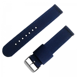 Marineblaues Two Piece RAF NATO Nylon Uhrenarmband