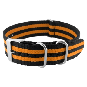 NATO ZULU Extreme Nylon Uhrenarmband Orange Bond