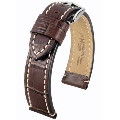 Hirsch Knight Uhrenarmband Braun