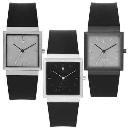 Jacob Jensen Uhrenarmband Serien 120, 121, 122 und 123 Gummi 23 mm