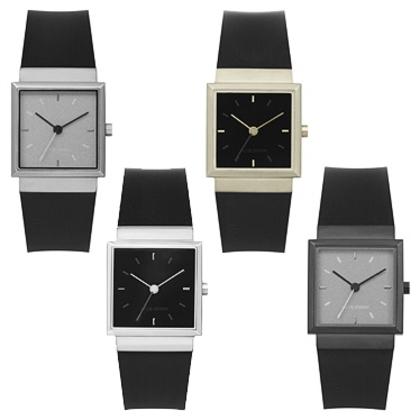 Jacob Jensen Uhrenarmband Serien 130, 131, 132 und 133 Gummi 18 mm