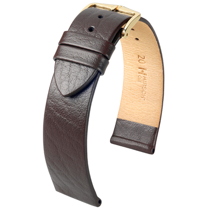 Hirsch Calf Uhrenarmband Braun