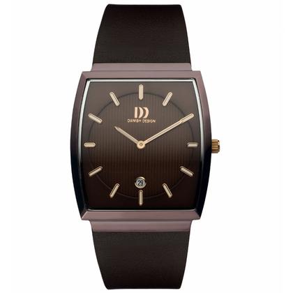 Danish Design Uhrenarmband IQ17Q900 Leder Dunkelbraun