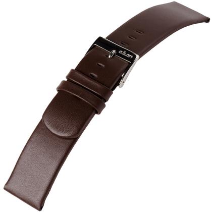 a.b.art Ersatzuhrenarmband D DL E EL ES Serie Dunkelbraun 21, 26 und 30 mm