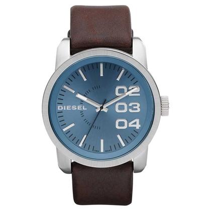Diesel DZ1512 Uhrenarmband Leder Braun