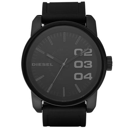 Diesel DZ1446 Uhrenarmband Gummi Schwarz