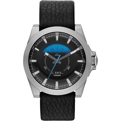 Diesel DZ1659 Uhrenarmband Leder Schwarz