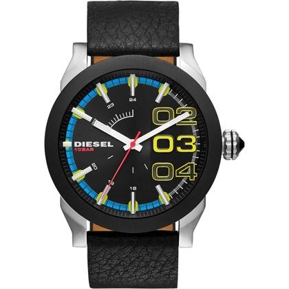 Diesel DZ1677 Uhrenarmband Leder Schwarz