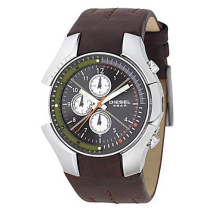 Diesel DZ4128 Uhrenarmband Leder Braun