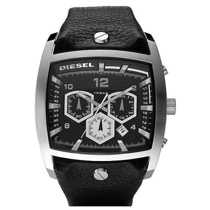 Diesel DZ4183 Uhrenarmband Leder Schwarz