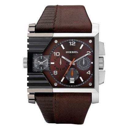 Diesel DZ4186 Uhrenarmband Leder Braun