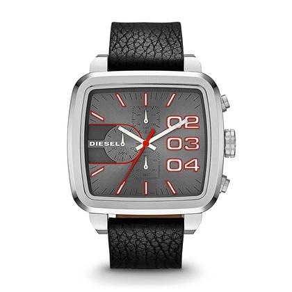 Diesel DZ4304 Uhrenarmband Leder Schwarz