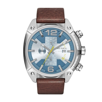 Diesel DZ4331 Uhrenarmband Leder Braun