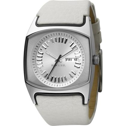 Diesel DZ5165 Uhrenarmband Leder Weiss
