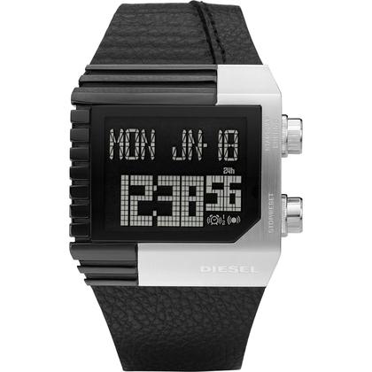 Diesel DZ7184 Uhrenarmband Leder Schwarz