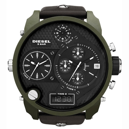 Diesel DZ7250 Uhrenarmband Leder Braun