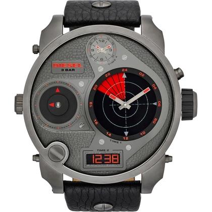 Diesel DZ7297 Uhrenarmband Leder Schwarz