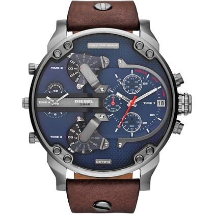 Diesel DZ7314 Uhrenarmband Leder Braun
