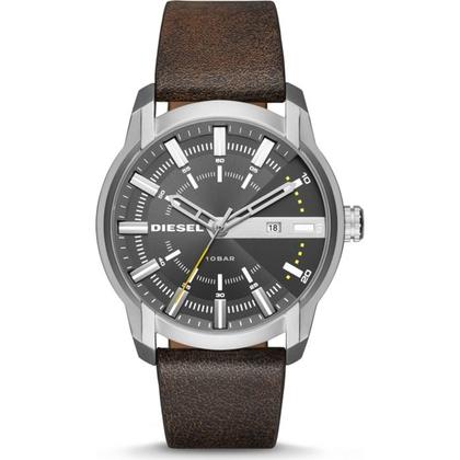 Diesel DZ1782 Uhrenarmband Leder Braun