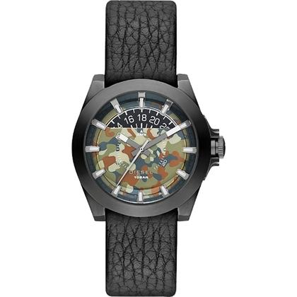 Diesel DZ1700 Uhrenarmband Leder Schwarz