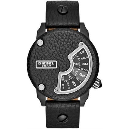 Diesel DZ7353 Uhrenarmband Leder Schwarz