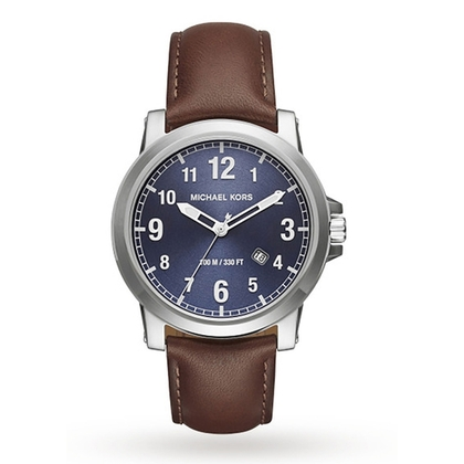 Michael Kors MK8501 Uhrenarmband Leder Braun
