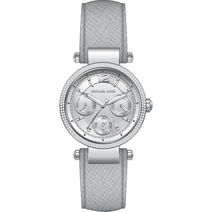 Michael Kors MK2503 Uhrenarmband Leder Grau