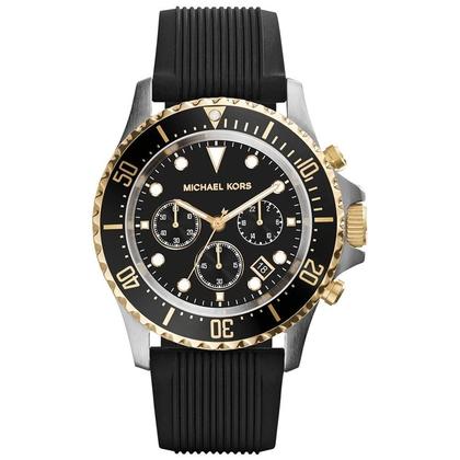 Michael Kors MK8366 Uhrenarmband Gummi Schwarz