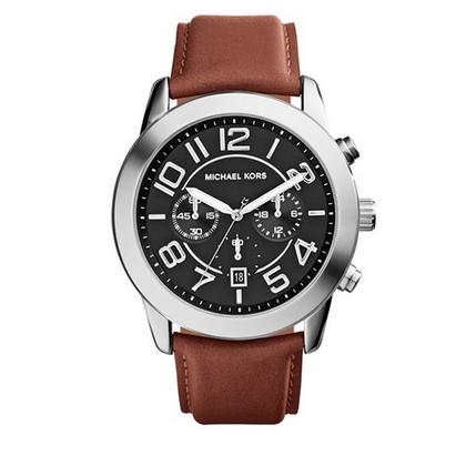 Michael Kors MK8359 Uhrenarmband Leder Braun