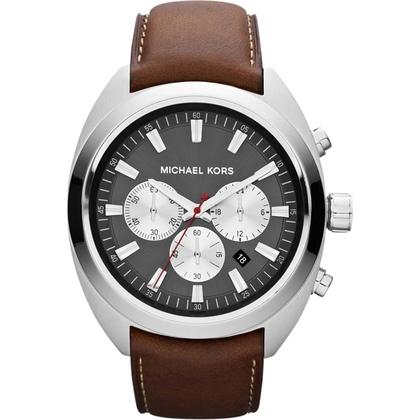 Michael Kors MK8294 Uhrenarmband Leder Braun