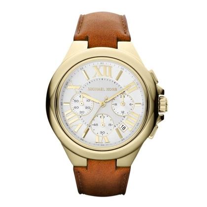 Michael Kors MK2266 Uhrenarmband Leder Braun