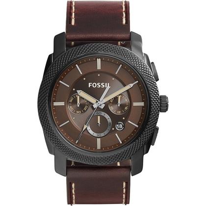 Fossil FS5121 Uhrenarmband Leder Braun
