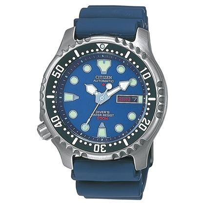 Citizen Promaster NY0040-17LE Uhrenarmband Blau - 20mm