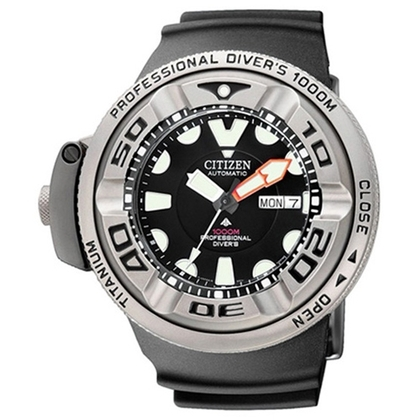 Citizen Promaster AutoZilla NH6934-08FE Uhrenarmband Schwarz 31mm