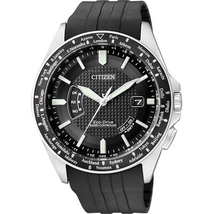 Citizen Eco-Drive Radio Controlled CB0021-06E Uhrenarmband 23mm
