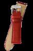 Fromanteel Alligatorgrain Uhrenarmband Rot
