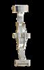 Fromanteel Alligatorgrain Uhrenarmband Dunkelblau mit Weisser Naht