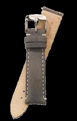 Fromanteel Vintage Leder Uhrenarmband Grau