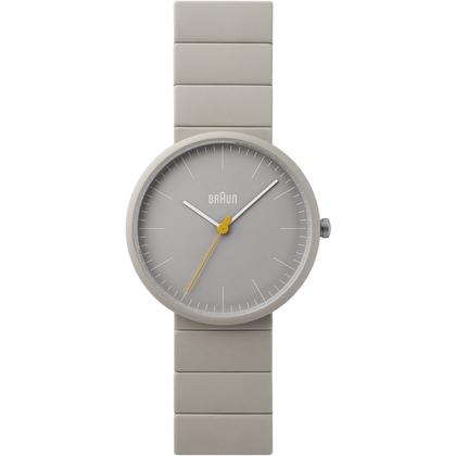 Braun Uhrenarmband für Typ BN0171GYGYG Keramik Grau
