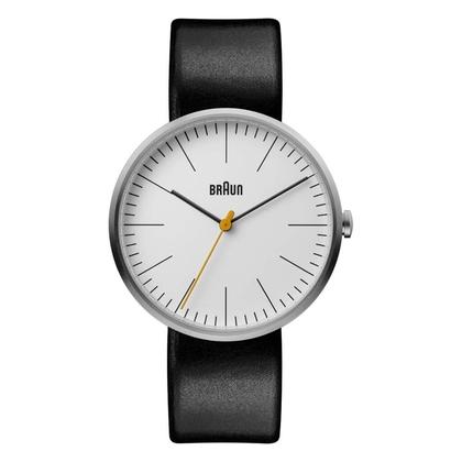 Braun Uhrenarmband für Typ BN0173WHBKG Leder Schwarz