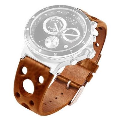 Rosendahl Tom Kristensen MPH Watch Uhrenarmband Leder Cognac