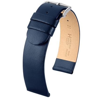 Hirsch Scandic Uhrenarmband Blau