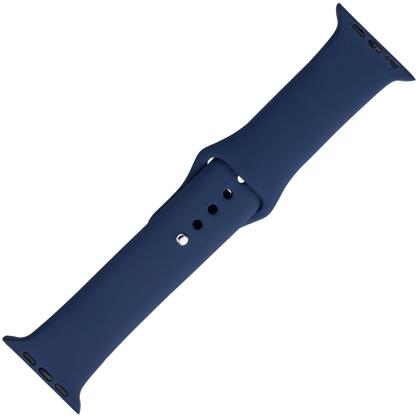 Apple Watch Uhrenarmband Gummi Blau