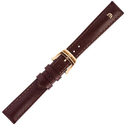 Maurice Lacroix Eliros Easychange Uhrenarmband Saffiano Braun 16mm