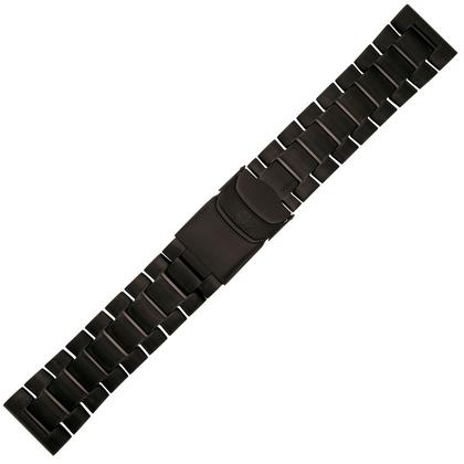 Luminox Uhrenarmband Schwarzer Stahl Serien 3150, 3180, 4220, 4240 - FM.L.BRAC.3150.60