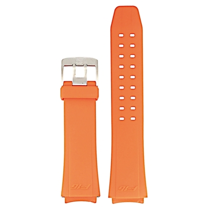 Luminox Serien 9109, 9123, 9125, 9129 Uhrenarmband F16 Fighting Falcon Gummi Orange